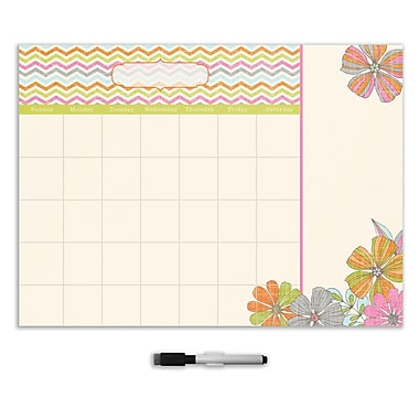 WALL POPS!® Dry-Erase Message Board with Notes, St. Tropez
