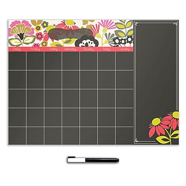 WALL POPS!® Dry-Erase Calendar with Notes, Eden