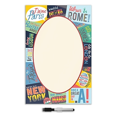 WALL POPS!® Large Dry-Erase Message Board, Passport