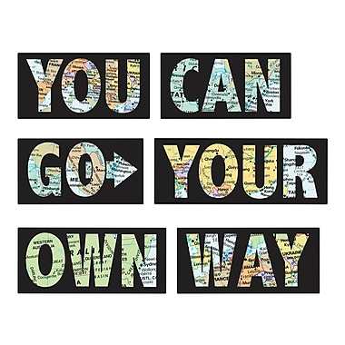 WALL POPS!MD – Citation murale, « You Can Go Your Own Way »