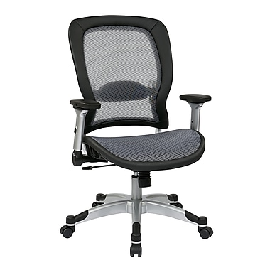 E Seating Professional Light Air Grid Back And Seat Platinum Chair