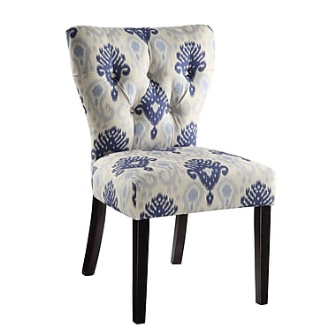 Ave Six Andrew Solid Wood & Fabric Chair