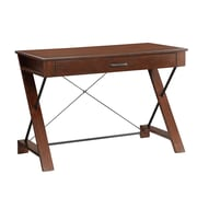 "INSPIRED by Bassett 30.2"" x 44"" Wood & Steel Writing Desk"