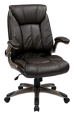 Office Star WorkSmart Faux Leather Managers Office Chair