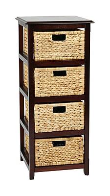 OSP Designs Seabrook Storage Unit Wood Storage Unit, 38.5