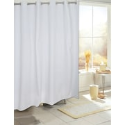Carnation Home Fashions EZ On PEVA Shower Curtain; White