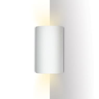 A19 Islands of Light Tenos 1-Light Corner Wall Sconce; Faux Saddle Leather