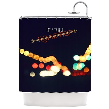 KESS InHouse Road Trip Shower Curtain