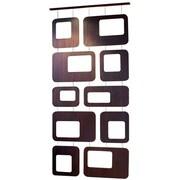 Nexxt FN50055-8INT Walnut Veneer Hanging Room Divider
