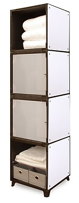 Yubecube YKA6000W Storage Cabinet, White