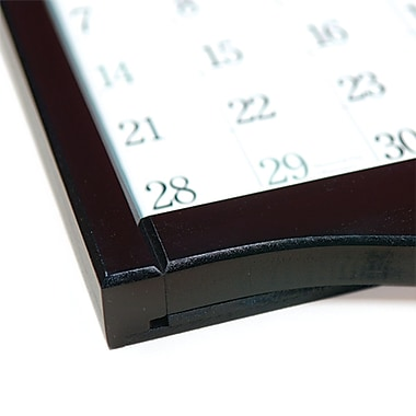 LANG Small Calendar Frame, Black Diamond