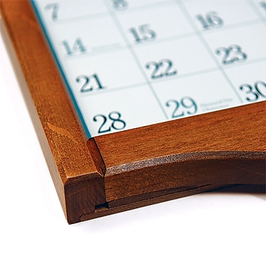 LANG Small Calendar Frame, Saddle, English