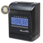 Acroprint ACP010270001 Top Loading Time Clock, Black/Red by