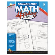 Carson-Dellosa Publishing™ Common Core 4 Today Workbook, Grade 2