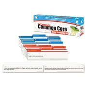 Carson-Dellosa Publishing™ Complete Common Core State Standards Pocket Chart Card Kit, Kindergarten