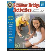 Carson-Dellosa Publishing™ Summer Bridge Activities® Workbook, Grade K - 1