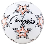 Champion Sports VIPER Size 4 Soccer Ball, White