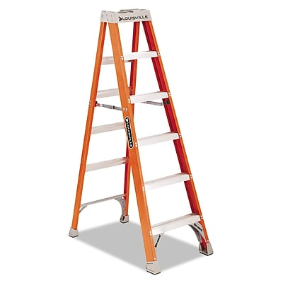 Louisville® 5 Step Heavy Duty Step Ladder, 300 lbs.
