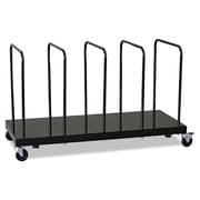"Ex-Cell Carton Stand, 25 1/2"" x 42 1/2"" x 18"", Black Gloss"