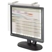 "Kantek Privacy Deluxe Filter For 17""-18"" LCD Monitor, Silver"