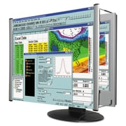 "Kantek Magnifier Filter For 22"" Widescreen LCD Monitor, Aluminum"