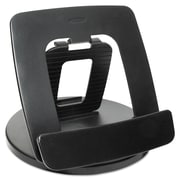 Kantek Rotating Desktop Stand For Tablet, Black