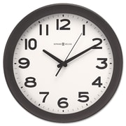 "Howard Miller® 13 1/2"" Kenwick Wall Clock, Black"