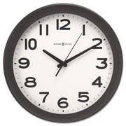 "Howard Miller® 13 1/2"" Kenwick Wall Clock, Black"