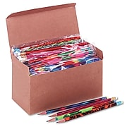 Moon Products Woodcase Pencil, HB #2, Assorted Colors, 144/Box