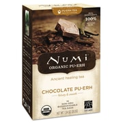 Numi® Chocolate Puerh Organic Tea, 16/Box