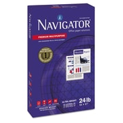 "Navigator® 24 lbs. Smooth Premium Multipurpose Paper, 11"" x 17"", 5/Pack"