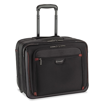 """""""""""Solo Executive Overnighter For 16"""""""""""""""" Notebook, Black/Red"""""""""""" 1483864"""