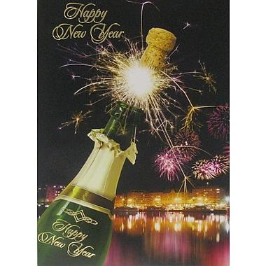 Cartes du Nouvel An, Bonne année, 18/paquet