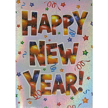 New Year Cards, Happy New Year!, 18/Pack