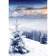 Christmas Cards, Happy Holidays, 18/Pack