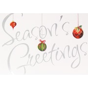 Christmas Cards, Season's Greetings , 18/Pack