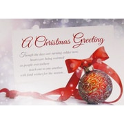 Christmas Cards, A Christmas Greeting, 18/Pack