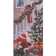 Carte porte-billet, Noël, 12/paquet