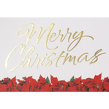 Cartes de Noël, « Merry Christmas », 12/paquet