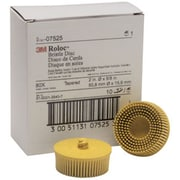 "3M™ Scotch-Brite™ Roloc™ 7525 2"" Bristle Disc, 25000 RPM, 10/Pack"