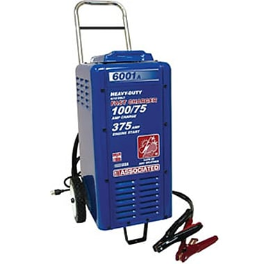 Associated 100/75 A Heavy-Duty Commercial Battery Charger