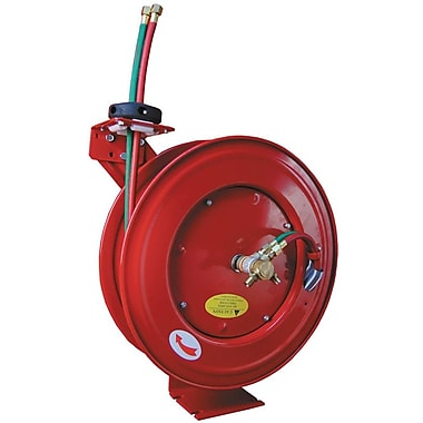 ATD® Retractable Twinline Hose Welding Reel, 1/4