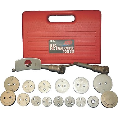ATD® 18-Piece Disc Brake Caliper Tool Set