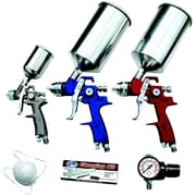 ATD® HVLP Spray Gun Set, 9-Piece