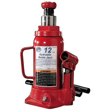 ATD® 12 Ton Heavy-Duty Hydraulic Side Pump Bottle Jack