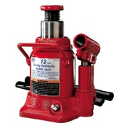 ATD® 12 Ton Heavy-Duty Hydraulic Side Pump Shorty Version Bottle Jack