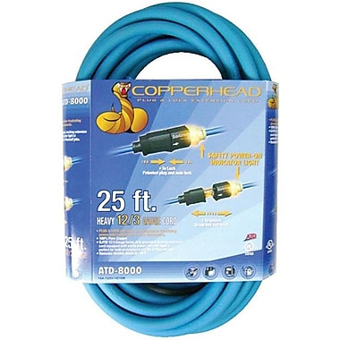 ATD® 50' 12/3 Gauge Indoor/Outdoor Extension Cord
