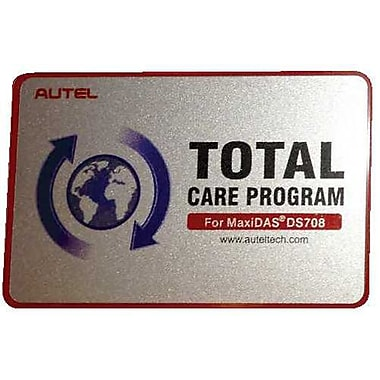Autel® 1-Year Total Care Protection Software Update for DS708