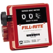 "Fillrite® 3-Wheel Mechanical Liter Meter, 3/4"" Inlet & Outlet"