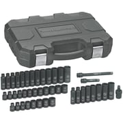 """GearWrench® 3/8"""" Drive 6-Point SAE/Metric Impact Socket Set, 44-Piece"""